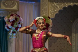 Indian dancer, bharatanatyam arangetram